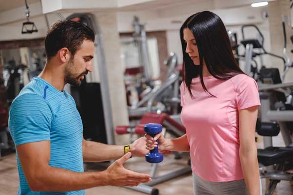 Why a personal trainer is a great partner to workout with.