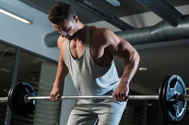 Bent over barbell row: A great exercise to develop overall back along with body stability