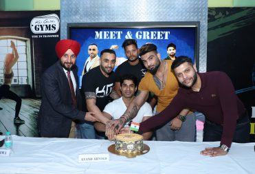 Anand Arnold Celebration at Kris Gethin Gyms Jalandhar