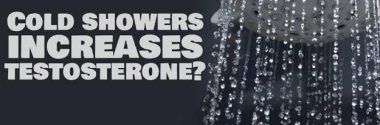 Cold showers increases testosterone?