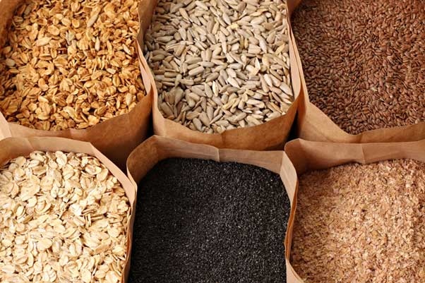 Benefits of whole grains.