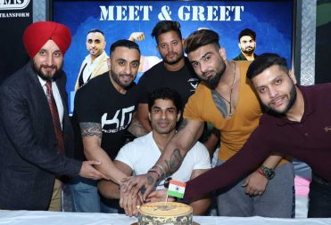 Anand Arnold Celebration at Kris Gethin Gym Jalandhar