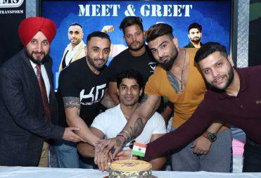Anand Arnold Celebration at Kris Gethin Gym Jalandhar