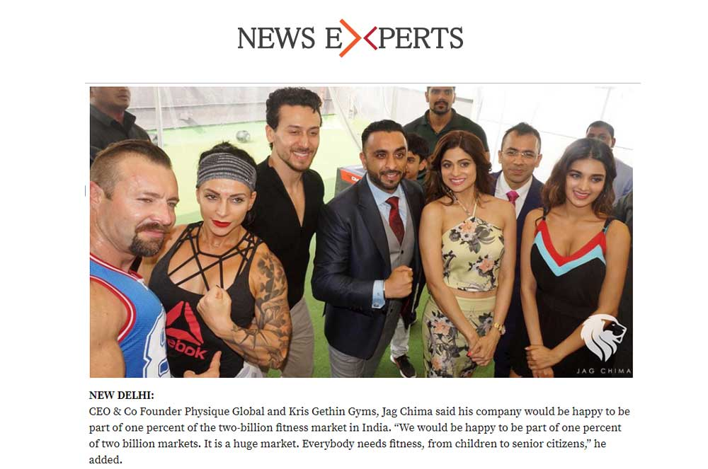 Kris Gethin Gyms to Hike Share in India's Fitness Market
