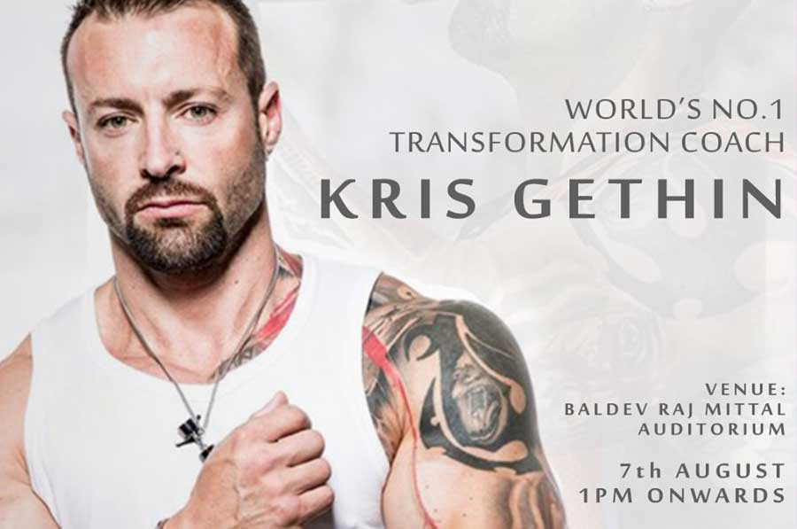World's No 1 transformation coach, Kris Gethin, to visit LPU on August 7, 2019