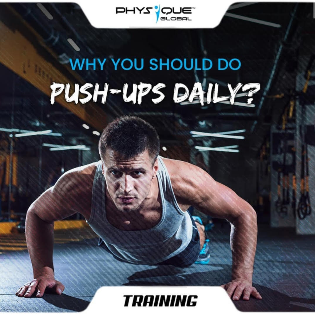 Why you should do Push-Ups daily?