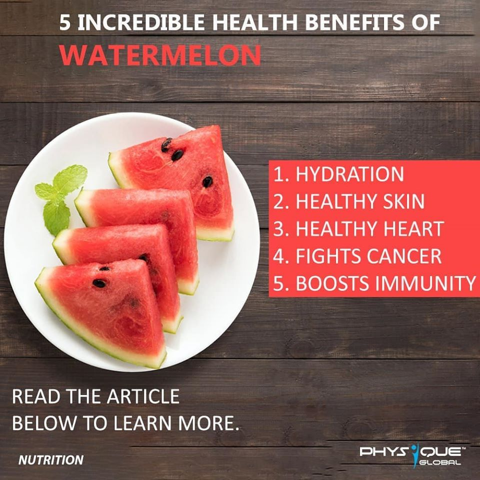 5 Incredible Health Benifits of Watermelon